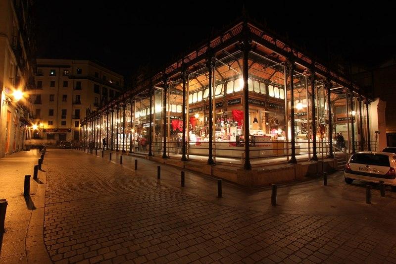 Mercado de San Miguel (Madrid) lugares turísticos de madrid