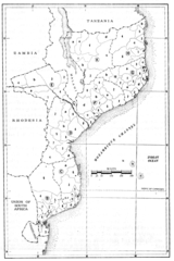 File:Mozambique, map of the administrative divisions circa