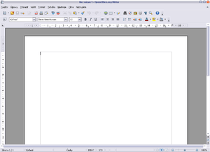 OpenOffice.org Writer 1