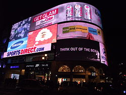 Piccadilly Circus.