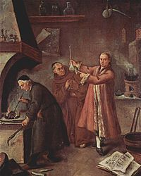 O Alquimista, de Pietro Longhi