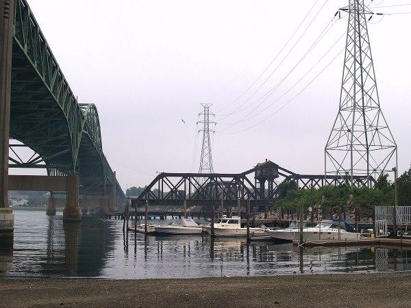 Sakonnet River rail bridge Wikipedia
