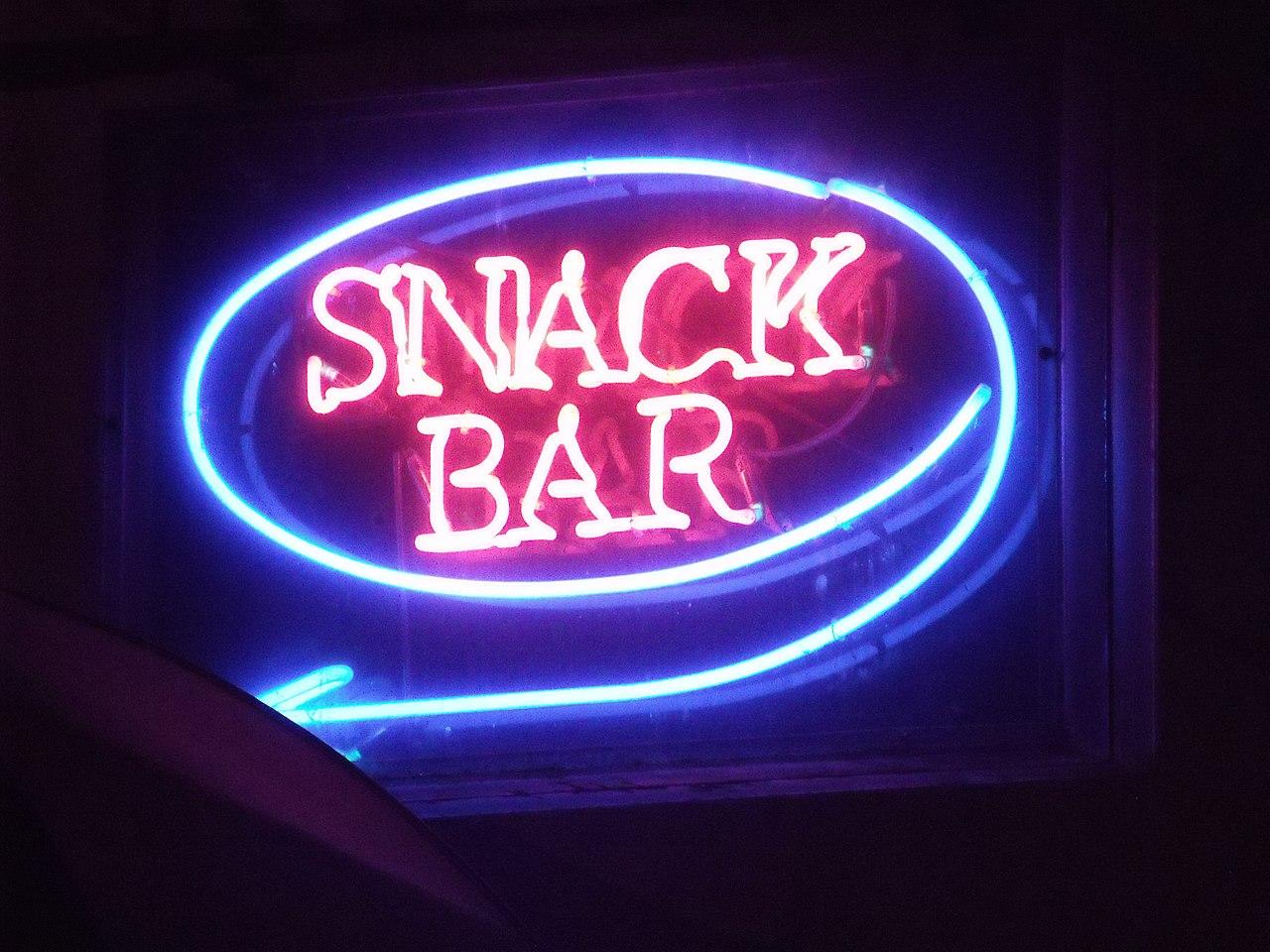 FileSnack Bar  Aldwych London  Neon signs 6447495729