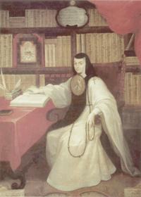 Sor Juana by Miguel Cabrera.
