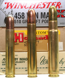 .458 Winchester Magnum - safari kongen