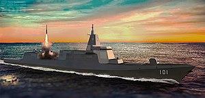 055型飛彈驅逐艦 - 維基百科,自由的百科全書