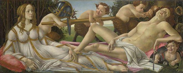 """Venus and Mars"" by Sandro Botticelli"