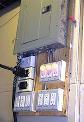 100 Amp Meter With Breaker Box Wiring Diagram Distribution Board Wikipedia