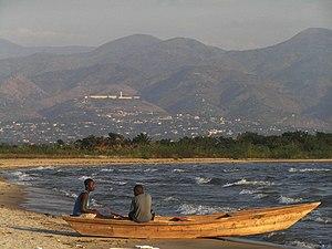 Fishermen on Lake Tanganyika. Eesti: Tanganjik...