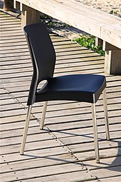 plastic chairs with stainless steel legs roman chair situps wikipedia polypropylene molded seats and in rio de janeiro brazil this type of material is very useful seaside areas