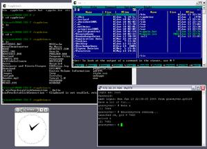 Screenshot of Cygwin