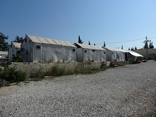 Diavata refugee camp greece
