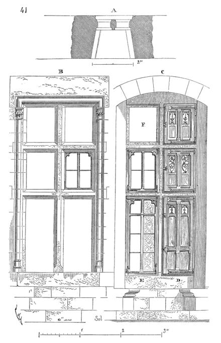 plan de coupe ossature bois
