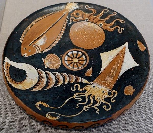 Terracotta Fish Plate