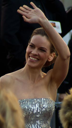 English: Actress Hilary Swank at the 83rd Acad...