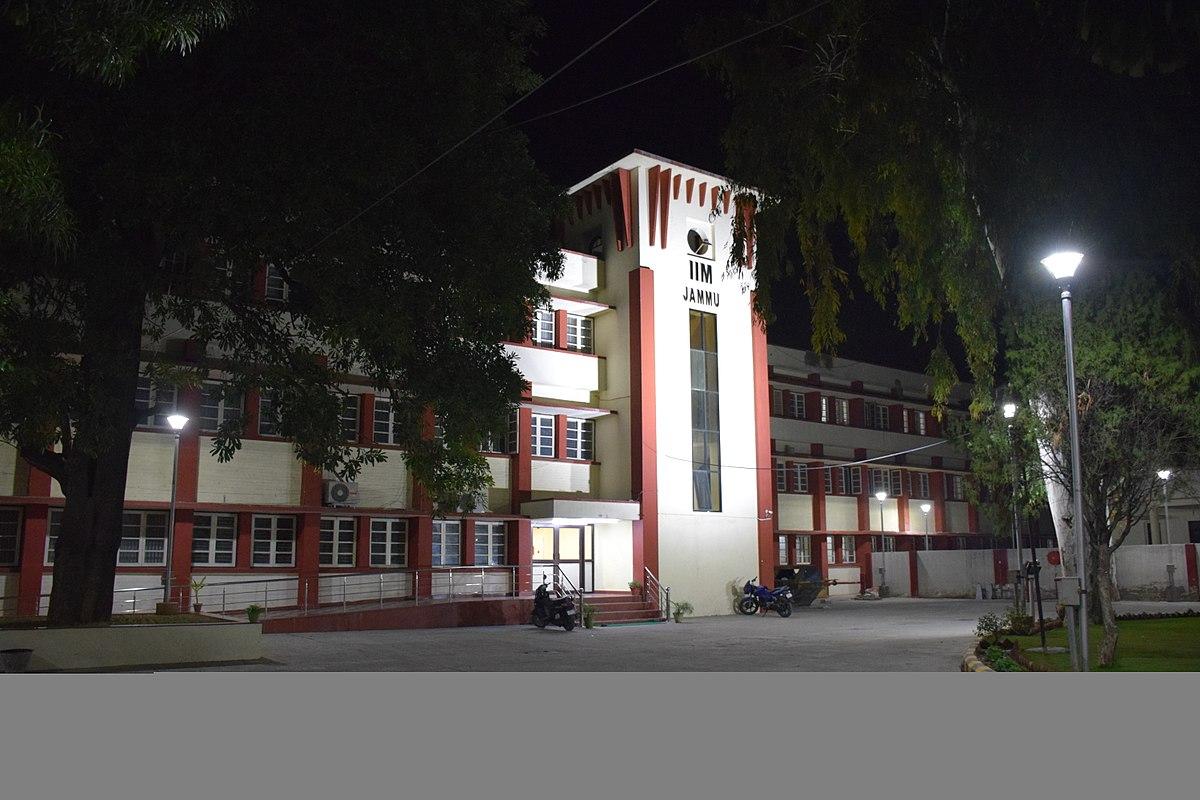 Indian Institute of Management Jammu  Wikipedia