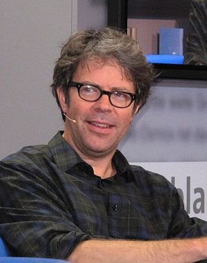 English: Jonathan Franzen - Frankfurt Book Fai...