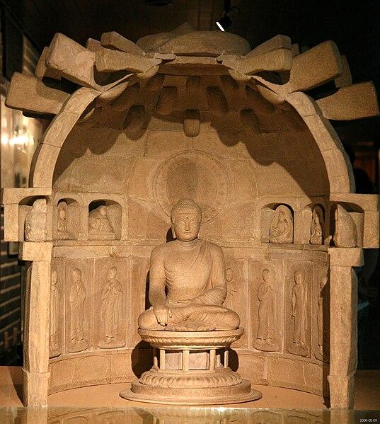 File:Korea-Gyeongju-Silla Art and Science Museum-Seokguram grotto model-04.jpg