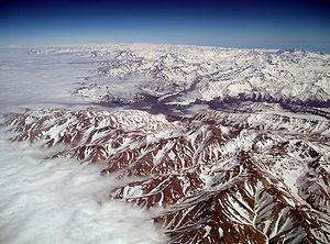 English: Andes Français : La Cordillère des An...