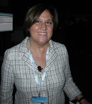 Lucia Annunziata, italian journalist.
