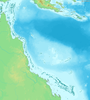 The Great Barrier Reef lies off the coast of Q...