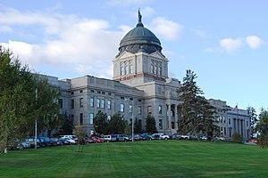 English: Montana State Capitol