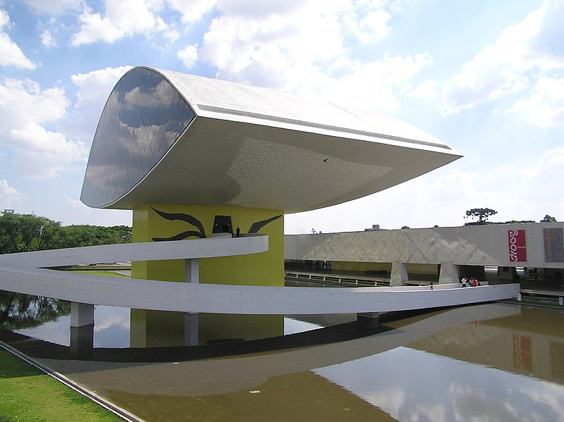 Ficheiro:Museu Oscar Niemeyer 2 Curitiba Brasil.jpg