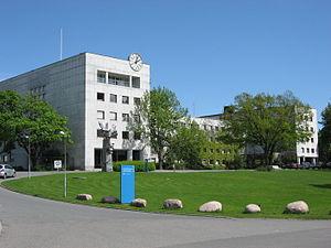 NRK building in Oslo