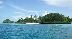 Deutsch: Rock-Islands, Republik Palau