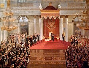 Speech from the Throne by Emperor Nicholas II ...