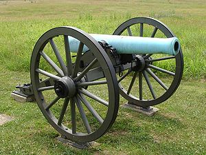 "An American M1857 12-Pounder ""Napoleon""."