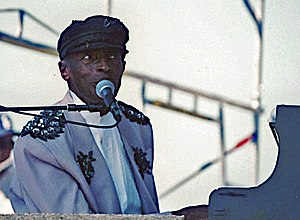 Charles Brown at the Long Beach Blues Festival