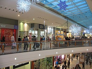 English: Christmas Shopping Festival Place.