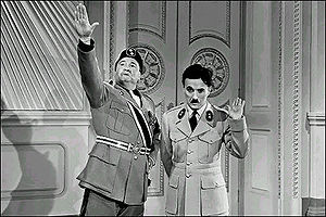 Charlie Chaplin and Jack Oakie from the film T...