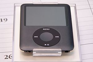 Apple iPod Nano, 3rd Generation, 8GB black model.