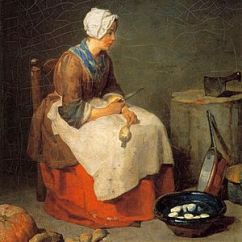 Kitchen Maid Espresso Shaker Cabinets The Chardin Wikipedia