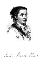 Julia Ward Howe, one of the Mothers of Mother's Day