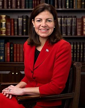 English: Official portrait of US Senator Kelly...