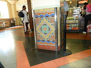 English: lobby of Union Station in Los Angeles