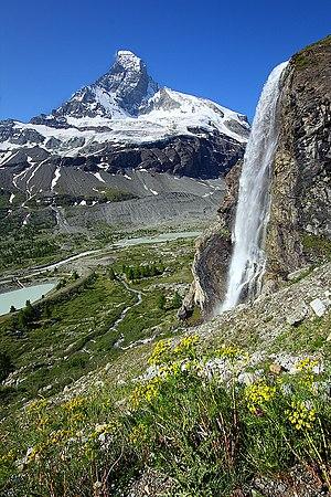 The Matterhorn from the Zmutt valley