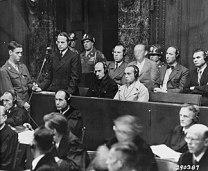 "English: Defendant Otto Ohlendorf pleads ""..."