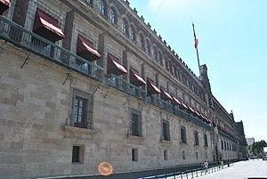Español: Palacio Nacional de México.