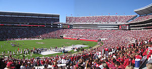 Bryant-Denny Stadium in Tuscaloosa, AL. Home o...