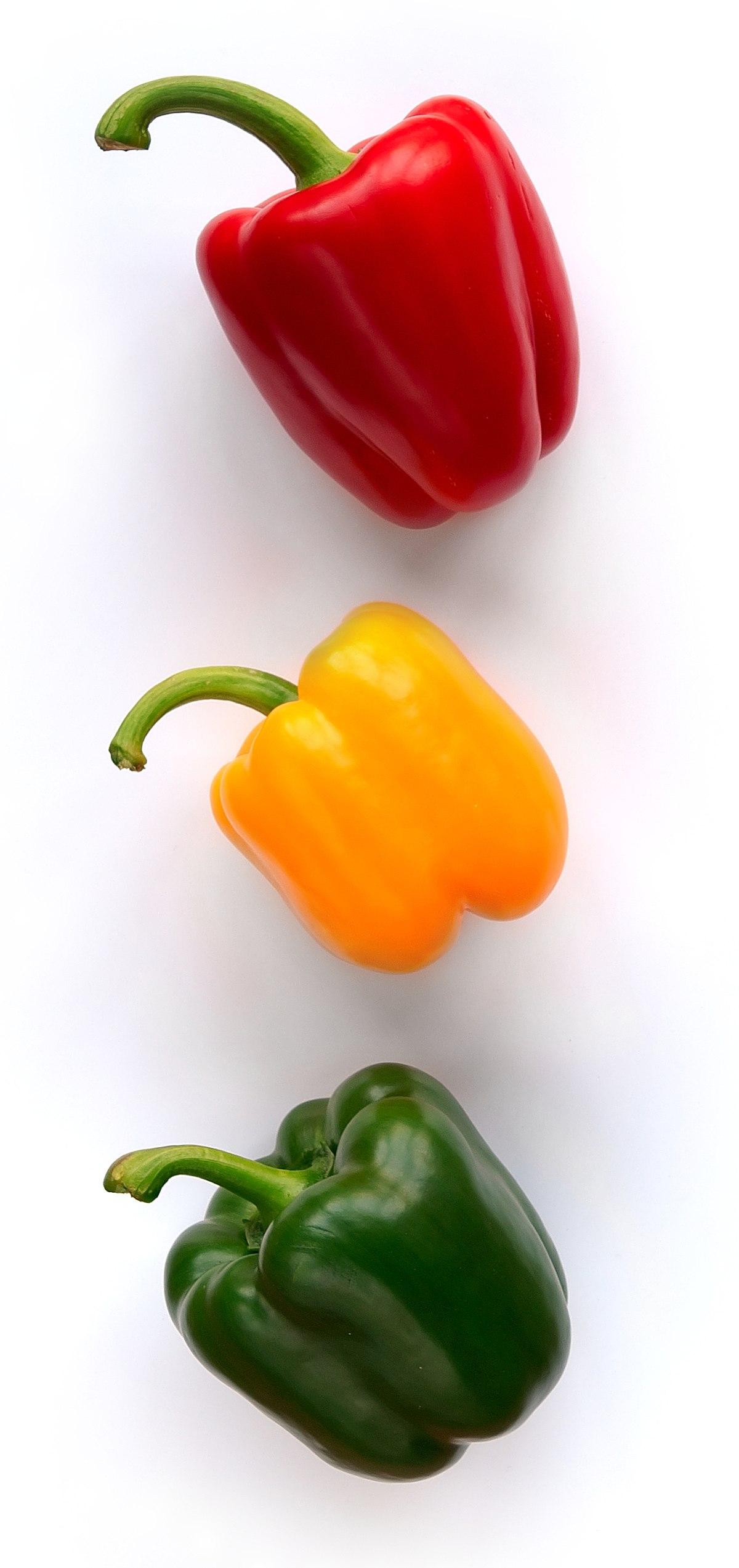 sweet pepper - Wiktionary