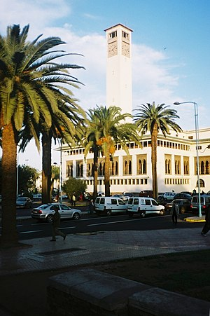 Prefecture building Casablanca