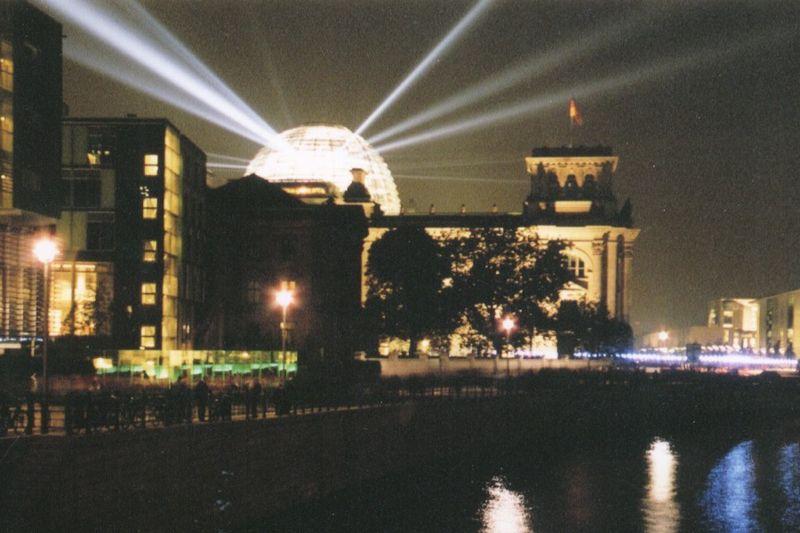Parlamenta domo en Berlino