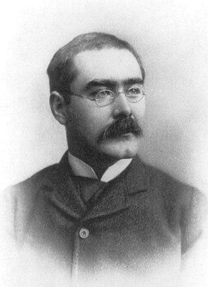 Kipling, Rudyard, 1865-1936, head-and-shoulder...