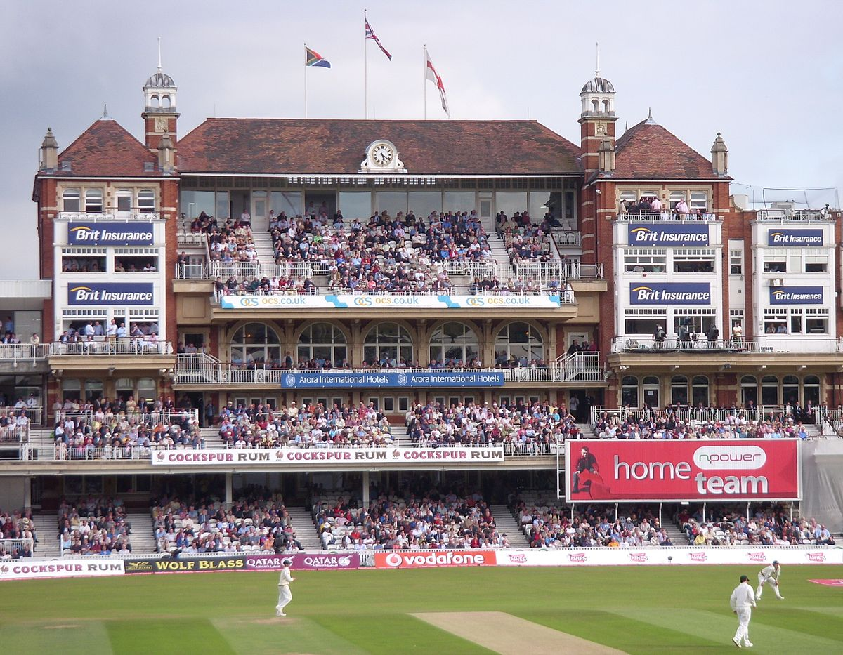 List Of International Cricket Centuries At The Oval