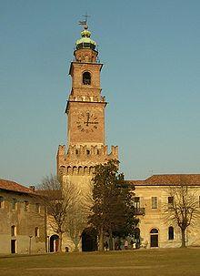 Castello Sforzesco Vigevano  Wikipedia