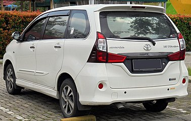 top speed grand new veloz all alphard 2019 toyota avanza wikiwand 2016 1 5 f654rm first facelift indonesia